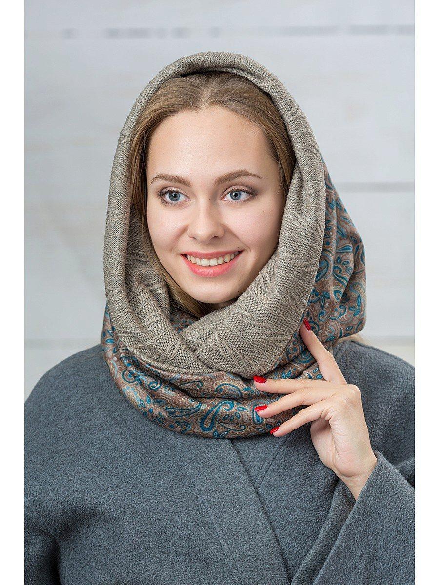 вязание трубы на голову спицами для начинающих шарф труба спицами