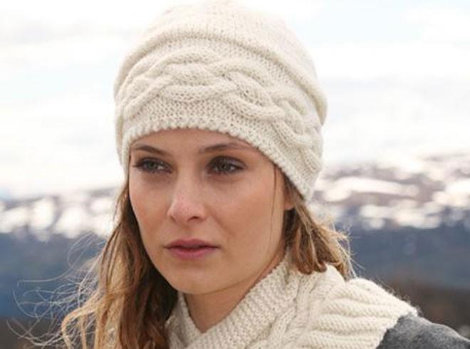 как связать красивую шапку спицами для женщин шаблоны вязаных шляп